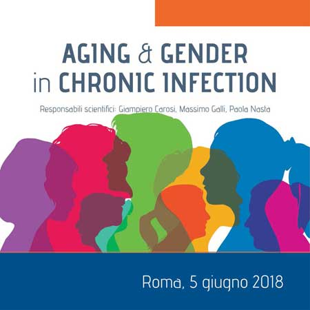 Aging e Gender in Chronic Infection 5 giugno 2018 a Roma