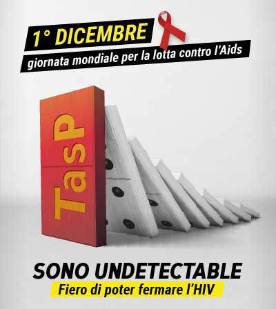 World Aids Day 2018: Plus pone l'accento sulla TasP